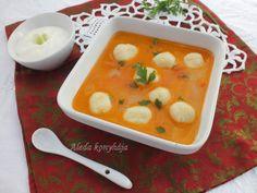 Krumpligombóc leves / Gölödin Cheeseburger Chowder, Thai Red Curry, Soup, Ethnic Recipes, Essen, Soups