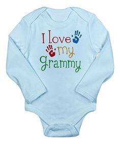 Another great find on #zulily! Sky Blue 'I Love My Grammy' Bodysuit - Infant by CafePress #zulilyfinds