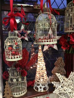 It's Christmas! Check out Georgie and Sam's display at Andrew Fleming Florist - all for sale