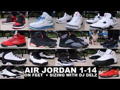 0c8f2d13228456 AIR JORDAN 1-14 SNEAKERS ON FEET  Sneakerhead  sneakercon Jordans Sneakers