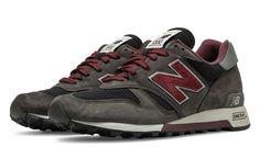 sports shoes 3f595 51111 New Balance 1300, Grey with Burgundy Zapatos De Hombre, Calzada De Hombre,  New