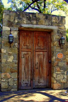 Old Door in Laredo, Texas