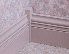 x x Pine Inside Corner Base Block Moulding at Menards Woodworking Projects Plans, Diy Woodworking, Corner Moulding, Crown Molding, Craftsman Window Trim, Plinth Blocks, House Stairs, Metal Homes, Interior Trim
