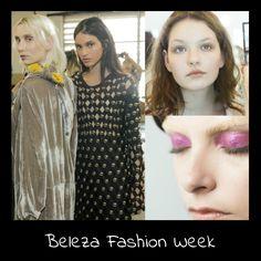 Bom diaaaa! Sabe quais são as makes e cabelos que seguem as propostas das marcas nos fashion weeks? 👇🔝🆕 Confira!!! http://www.toquedepenelope.com.br/site/post/24