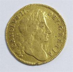 Lot 329: Charles II guinea (1679) Estimate £400-£500 Sale date 21st August 2013 www.afbrock.co.uk