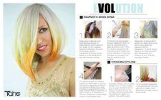 "Tahe EVOLUTION COLLECTION  ""Η ψευδαίσθηση μίας ψυχρής φλόγας με χρυσά, κίτρινα και κόκκινα ίχνη δημιουργούν έναν εκρηκτικό, συναρπαστικό συνδυασμό."" Δημιουργήστε με LUMIERE COLOR EXPRESS Collections, Hair, Color, Fashion, Moda, Fashion Styles, Colour, Fashion Illustrations, Strengthen Hair"