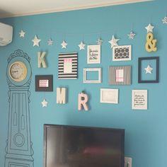 加工なしの写真/折り紙の星多すぎ/アルファベットオブジェ/IKEAがたくさん♪/カラフルな部屋…などのインテリア実例 - 2015-03-30 23:56:46 | RoomClip(ルームクリップ)
