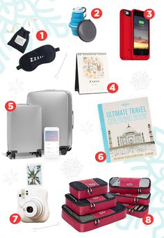 Get some holiday shopping inspiration with this list of gifts that will definitely impress the jet-setter or adventure-seeker in your life. #travelgifts #giftguide #holidaygifts #travelagents