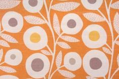 Contemporary/Retro Prints :: 3.7 Yards Richloom Ingrid Drapery fabric in Nectar