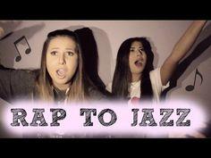 TURNING RAP INTO JAZZ CHALLENGE!!