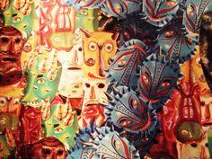 Mexican mural art @Amanda Snelson Cummings-Granato Guadalajara * Wonderwall * The Inner Interiorista