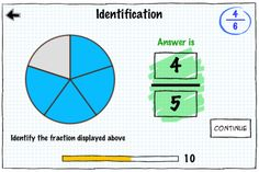 Fractions App By Tap To Learn  By TapToLearn Software