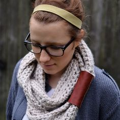 The perfect scarf for winter...free crochet pattern included