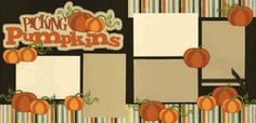Picking Pumpkins Page Kit  Out on a limb scrapbooking