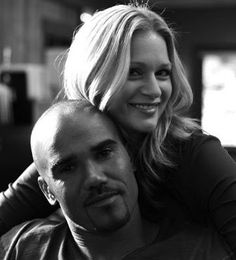Criminal Minds - Morgan and JJ