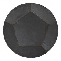 Plat rond 46 cm Inspiration, Slate, Dish, Biblical Inspiration, Inhalation