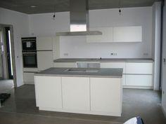 Küche Beton Arbeitsplatte
