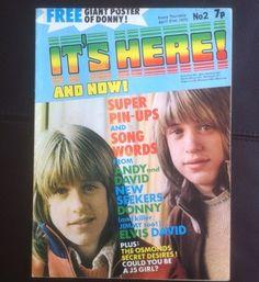 It's Here! (1973) David Bowie, Jackson 5, New Seekers, David Cassidy, Osmonds