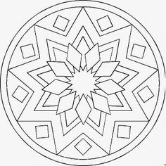 – Coloring pages - Malvorlagen Mandala Coloring Book Art, Mandala Coloring Pages, Colouring Pages, Adult Coloring Pages, Stained Glass Patterns, Mosaic Patterns, Quilt Patterns, Mandala Design, Zentangle Patterns