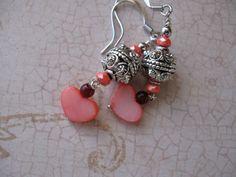 Sweetheart Earrings by MEsshop on Etsy, $12.00