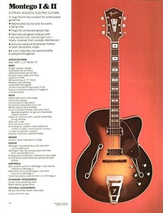 Montego archtop