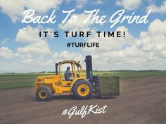 Back to the grind here at #GulfKist because it's #TurfTime! #TurfLife