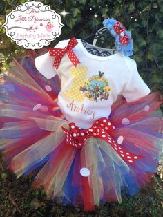 Mickey Mouse Clubhouse Birthday Tutu Outfit - Mickey Mouse Clubhouse Tutu Set -  Mickey Mouse Clubhouse Dress by joyfullymadeboutique on Etsy https://www.etsy.com/listing/220680370/mickey-mouse-clubhouse-birthday-tutu