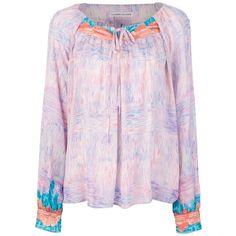 TSUMORI CHISATO printed blouse ($880) ❤ liked on Polyvore