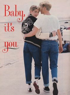 'Proving once again that the end justifies the jeans…' (1987) #Seventeen