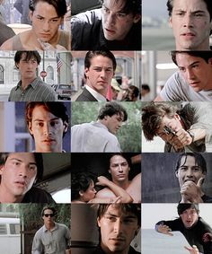Keanu Reeves - Point Break (1991), this is probably my favorite movie of all time