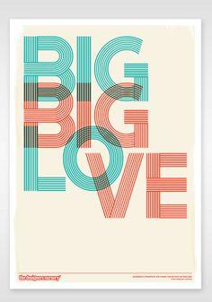 Big, big Love Print $25