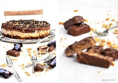 Herzfutter | Food-Blog : Eine Snickerstorte zum Geburtstag Cake Recipe Using Buttermilk, Snickers Torte, Caking It Up, Cakes And More, Soul Food, Cake Recipes, Sweet Treats, Cheesecake, Food Porn