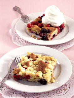 Beerenkuchen vom Blech - [ESSEN UND TRINKEN]