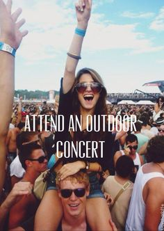 Attend an outdoor concert
