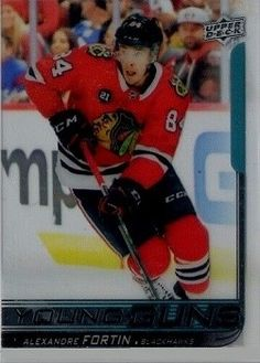A large assortment the new Upper Deck hockey cards for sale Hockey Cards, Baseball Cards, Young Guns, Upper Deck, Decks, Sports, Fictional Characters, Motorbikes, Hs Sports