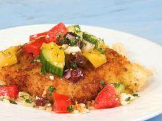 Mediterranean chicken cutlets