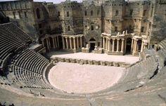 bosra teatro romano