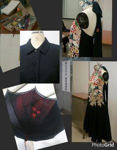留め袖~カクテルドレス 呂の着物~ブラックフォーマル 羽織~日傘 特級技能士の先生の作品