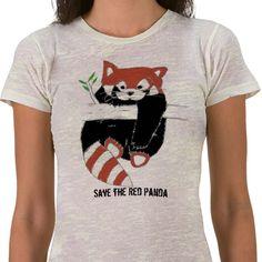 Save the Red Panda tshirt! http://www.zazzle.com/save_the_red_panda_aka_firefox_tshirt-235639989836189967