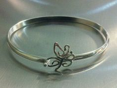 Sterling Silver Butterfly Bracelet | St. Croix Hook Bracelets