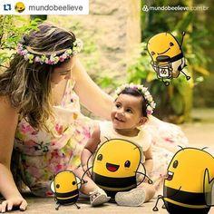 #MePolinize com Mundo Beelieve E que dia lindo... - Viver Mãe