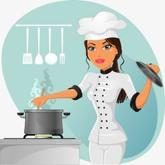 Buy Woman Chef by iostephy on GraphicRiver. Woman cooking chef in white INCLUDES: Vector file fully editable JPG image px Cartoon Chef, Girl Cartoon, Cute Cartoon, Home Health Services, People Icon, Cooking Chef, Business Icon, Le Chef, Magazine Art