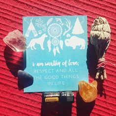 Wild Orange love. Gutsy Mantra by me. Crystal collecting. #gutsygirlart #gutsymantras #gutsygiftbox #gutsygiftguide #doterra #essentialoils #crystals #sage #boho #mantra #affirmation #selflove