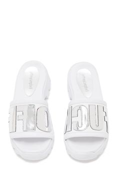 Think i need these! Jeffrey Campbell Shoes ALDAMA in White Silver FO