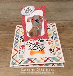 Altered Scrapbooking: Doggie Pull Tab Card