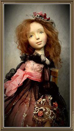 Купить или заказать будуарная куколка в интернет магазине на Ярмарке Мастеров. С доставкой по России и СНГ. Материалы: пластик, хлопок, кружево, шебби-ленты. Размер: 23 см