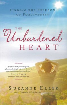 The Unburdened Heart. Teaching this book at my church next quarter. We can't control what happens to us by others but we can control whether we let it control us. Forgiving is not condoning. It's releasing the power a hurt has over you. Excited to do this study!