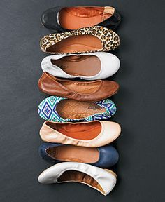 I have a couple of pairs of these already! Love them! -- Lucky Brand Emmie Flats - Flats - Shoes - Macy's