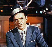 Frank Sinatra,fue un cantante y actor estadounidense.(12 de Diciembre)