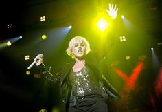 Dolores O'Riordan of The Cranberries performs at the Sant Jordi Club in Barcelona in 2012.